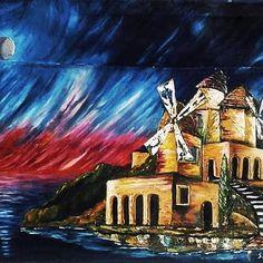 http://ift.tt/2izqoRM REGRAM @carlo_sel_tosun // Brrr  Durchgefroren träume ich mich gerade an wärmere Orte... Der aus diesem Gemälde von meinem Vater @carlo_sel_tosun sieht doch ganz gut aus oder? Hach Leute ich muss endlich mal wieder verreisen... . Jetzt geh ich erstmal Laminat verlegen  . P.s.: Hab gerade Material für ein echt cooles DIY bestellt für das ich hoffentlich die Geduld aufbringen kann. Wenn nicht bekommt Anke @dailydreamery hiermit die offizielle Erlaubnis mir regelmäßig…