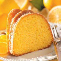 Fluted Lemon Cake Recipe | Taste of Home Recipes.        I love lemon!!!!