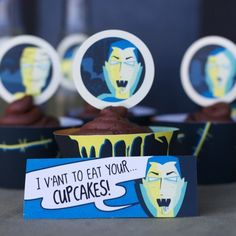 Print out spooky labels for your movie party food - A unique outdoor movie night theming idea from Southern Outdoor Cinema.