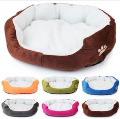 Pet Products Cotton Pet Bed for Cats and Dogs Small Animals Bed House Pet Beds Cushion High Quality