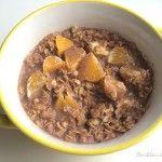 owsianka kakaowa z pomarańczą