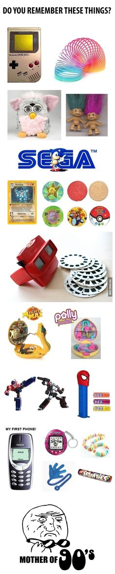 Do you remember these? The sad thing was I was born in 2000 and I remembered all of them.