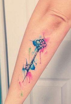 Watercolor Tattoos (47)