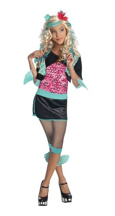 Monster High - Lagoona Blue Child Costume