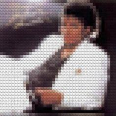 Des pochettes dalbums réalisées avec des LEGO Photo