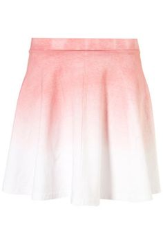 Pink Ombre Skater Skirt- ugh I am salivating over the cuteness of this skirt....