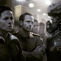 Alien 5 movie: Hicks and Ripley back together again.