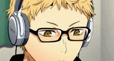 Resultado de imagen para tsukishima kei chibi