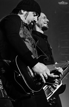 The Guitar Gangsters, jinglesthemg: Michael Poulsen and Rob ...