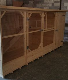 5ft High Rabbit Kennel and Run - Boyle's Pet Housing