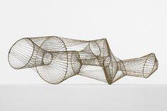 Twowheels+: Harry Bertoia wire sculpture