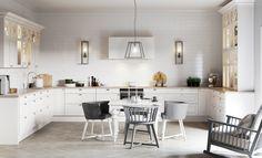 Fasett Valkoinen Mansion - Epoq keittiöt
