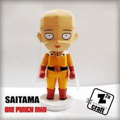 Saitama es el protagonista de la serie de anime One Punch Man.