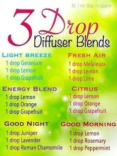 3 Drop Diffuser Blends