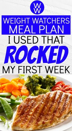 Using this Weight Watchers Freestyle Diet Plan Menu - Week is exactly what foods I ate to lose 6 pounds my very first week on the program. Healthy Diet Plans, Good Healthy Recipes, Ww Recipes, Healthy Weight, Healthy Eating, Healthy Foods, Diet Foods, Gm Diet, Diet Meals