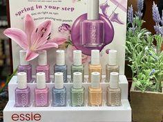 Essie Spring 2020 – #FASHALIA 101 Pale Pink, Lilac, Colour Story, Easter 2020, Pastel, Essie Nail Polish, Easter Celebration, Rain Shower, Pearl Color