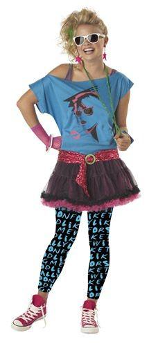 80's Valley Girl Costume