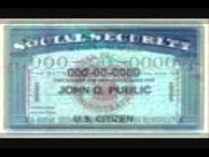 The Correct Way To Use a Social Security Card Part II (Final) - YouTube