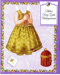 Millie's Paper Doll Collection , Robin Woods, designer - A Life of Faith Product, 2004: Page 10 (of 34)