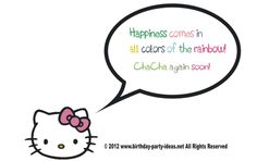 0c3879fd7782 hello kitty quotes  hello kitty  birthday  party  ideas  quotes  saying