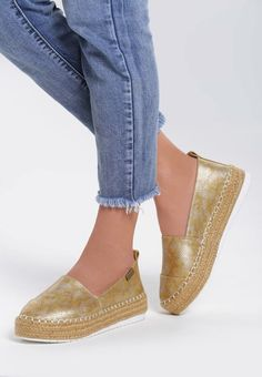 Espadrile Alliance Galbene Espadrilles, Flats, Shoes, Fashion, Espadrilles Outfit, Loafers & Slip Ons, Moda, Zapatos, Shoes Outlet