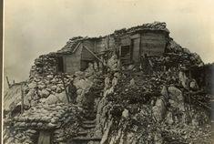 Italian barracks on the Dolomitic front, WWI