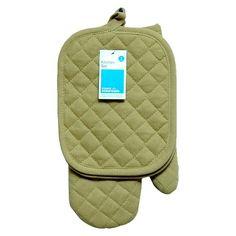 Room Essentials™ Tan Pothold Mitt 3Pk Accessory  - Pot holder