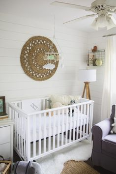 Gender Neutral Shiplap Mint Nursery Decor Baby Room Pastel