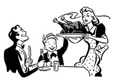 *The Graphics Fairy LLC*: Retro Image - Family Thanksgiving