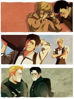 I wish I had a friend like Bucky or Steve.