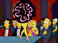 Pure genius- Tree House of Horror Goat Cartoon, Simpsons Cartoon, Santa's Little Helper, Horror House, Old Cartoons, Homer Simpson, Futurama, Batman, Mellow Yellow