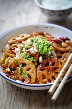 Kung Pao Lotus Root – China Sichuan Food