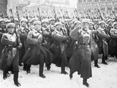November, 1941. The Germans were knocking on Moscow's doors. Russian soldiers parade on the Red Square before going to fight the Germans. The Battle for Moscow changed the face of the war. Yes, even before Stalingrad happened.