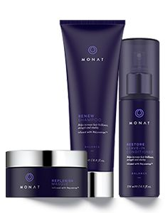 Balance Treatment System Change the look of your hair in just one wash. I'm not kidding. This stuff is the bomb. I am so happy about my hair. www.hairmonat.com