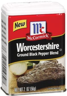 McCormick Worcestershire Ground Pepper, Black, 2-Ounce (Pack of 12) - http://spicegrinder.biz/mccormick-worcestershire-ground-pepper-black-2-ounce-pack-of-12/