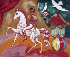 """dappledwithshadow: """"The Circus, Kees van Dongen c. 1915 """""""