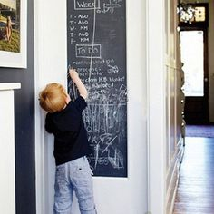 Chalkboard Wall Stickers Removable Great Gift for Kid