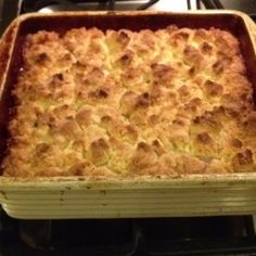 Rhubarb cobbler adapted from Pioneer Woman's recipe.