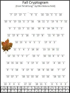 Fall Cryptogram