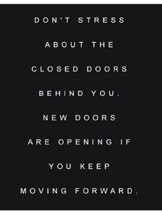 Open doors in life