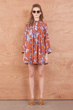Border Shift Dress - Dresses | Karen Walker