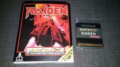 Atari Lynx Game RAIDEN NEW