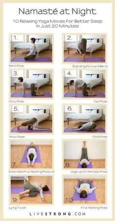 try these yoga poses before going to bed  yoga health