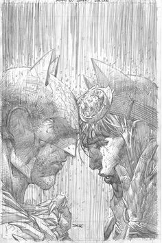 Batman Jim Lee Pencils Only Sketch Variant Catwoman Wedding DC Comics Catwoman Cosplay, Batman Et Catwoman, Batgirl, Jim Lee Batman, Comic Book Artists, Comic Artist, Comic Books Art, Batman Kunst, Batman Art