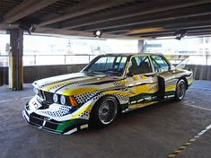 BMW art car collection at art drive! in london