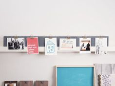 Tutoriales DIY: Cómo hacer un portafotos para la pared vía DaWanda.com #DaWanda #diseño #handmade #hechoamano #DIY