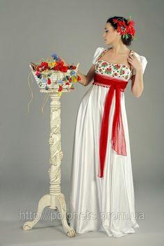 Ukrainian wedding dress