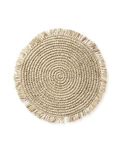 100 Boho Wedding Decor Finds You'll Love!   The Perfect Palette Farmers Sink, Pink Sand, Placemat Sets, Linen Napkins, Beautiful Kitchens, Table Linens, Wicker, Rattan, Hand Weaving