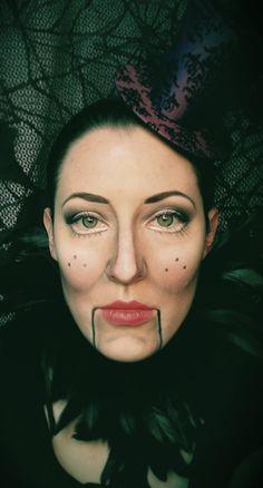 Marionette Makeup #poiriersemporium #emilyboydmakeup