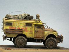 """Land Rover """"HOTHEAD"""". Mail 2033. Tamiya 1:35 Alexey Gruzdev, Minsk, Belarus"""